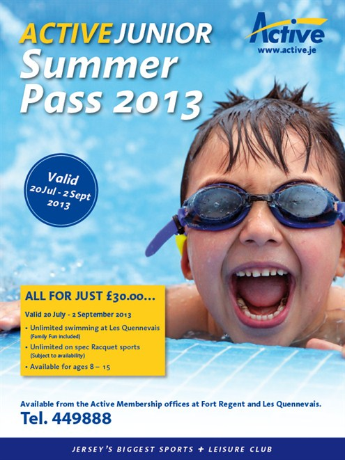 Active Junior Summer Pass 2013