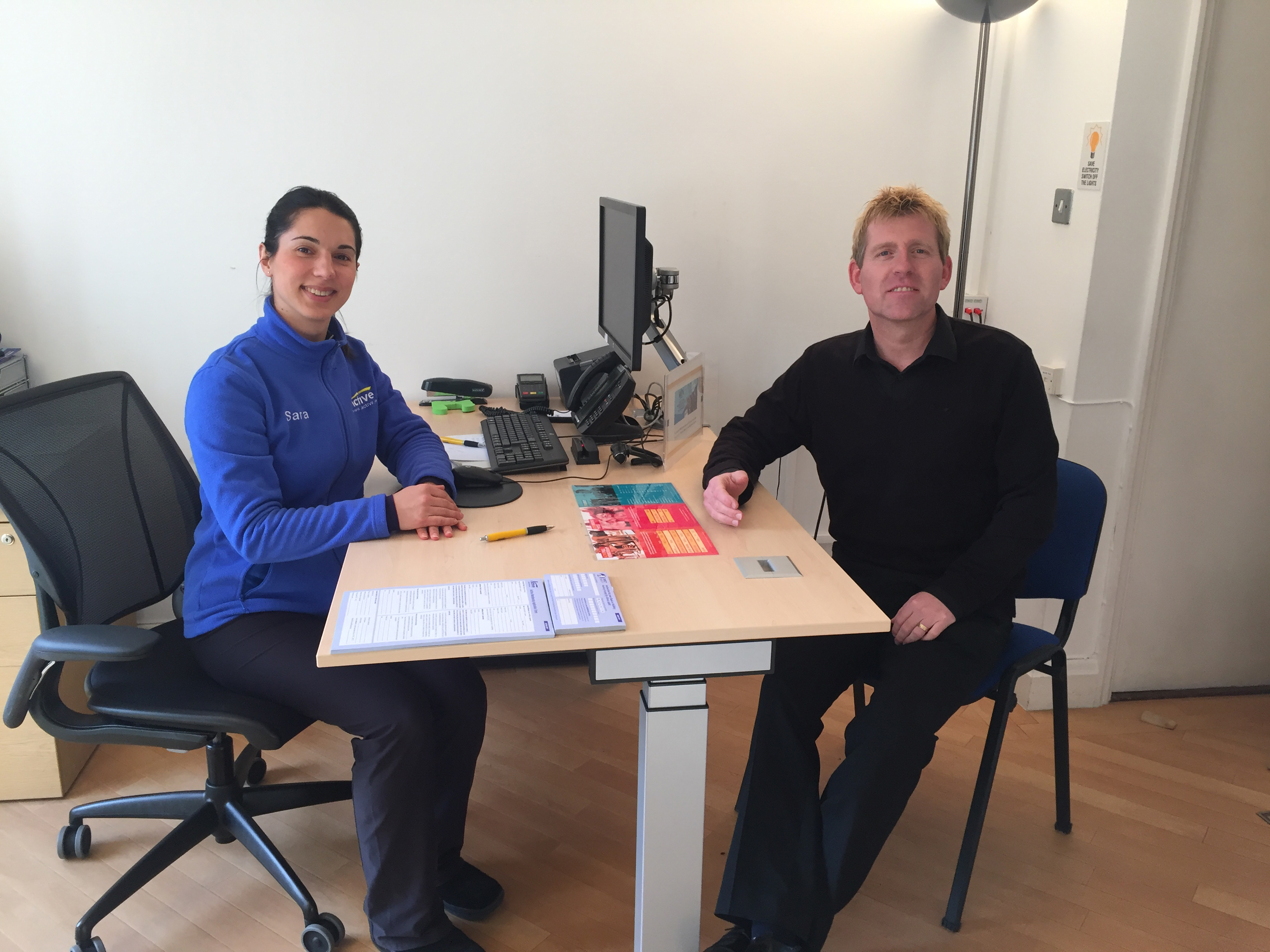 Your Active Refit Single Mono Faucet Pictured Here Are Sara Montalvao Team Supervisor Steven Hendrie Duty Officer