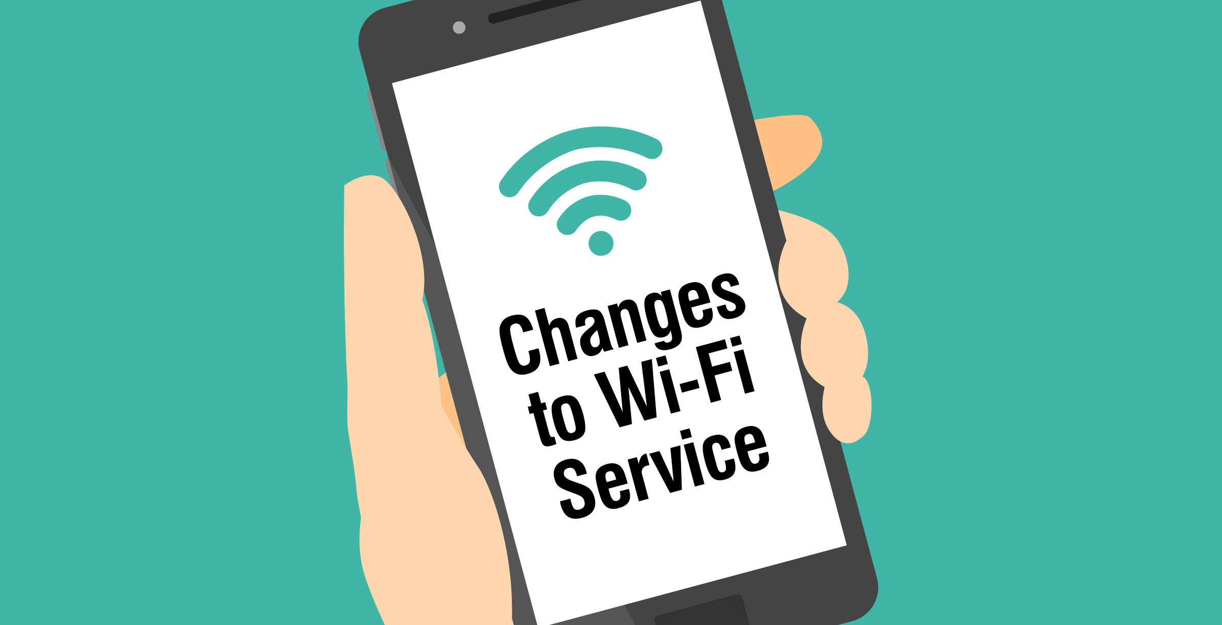 Changes to Wi-Fi Service
