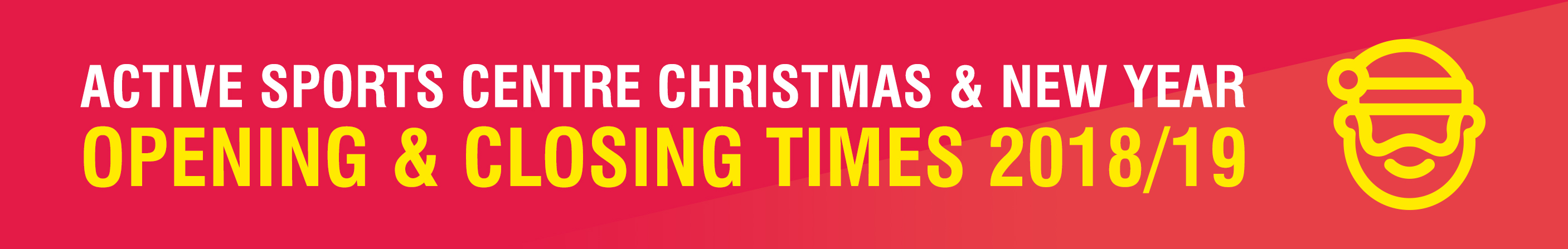 Active Christmas Opening Times