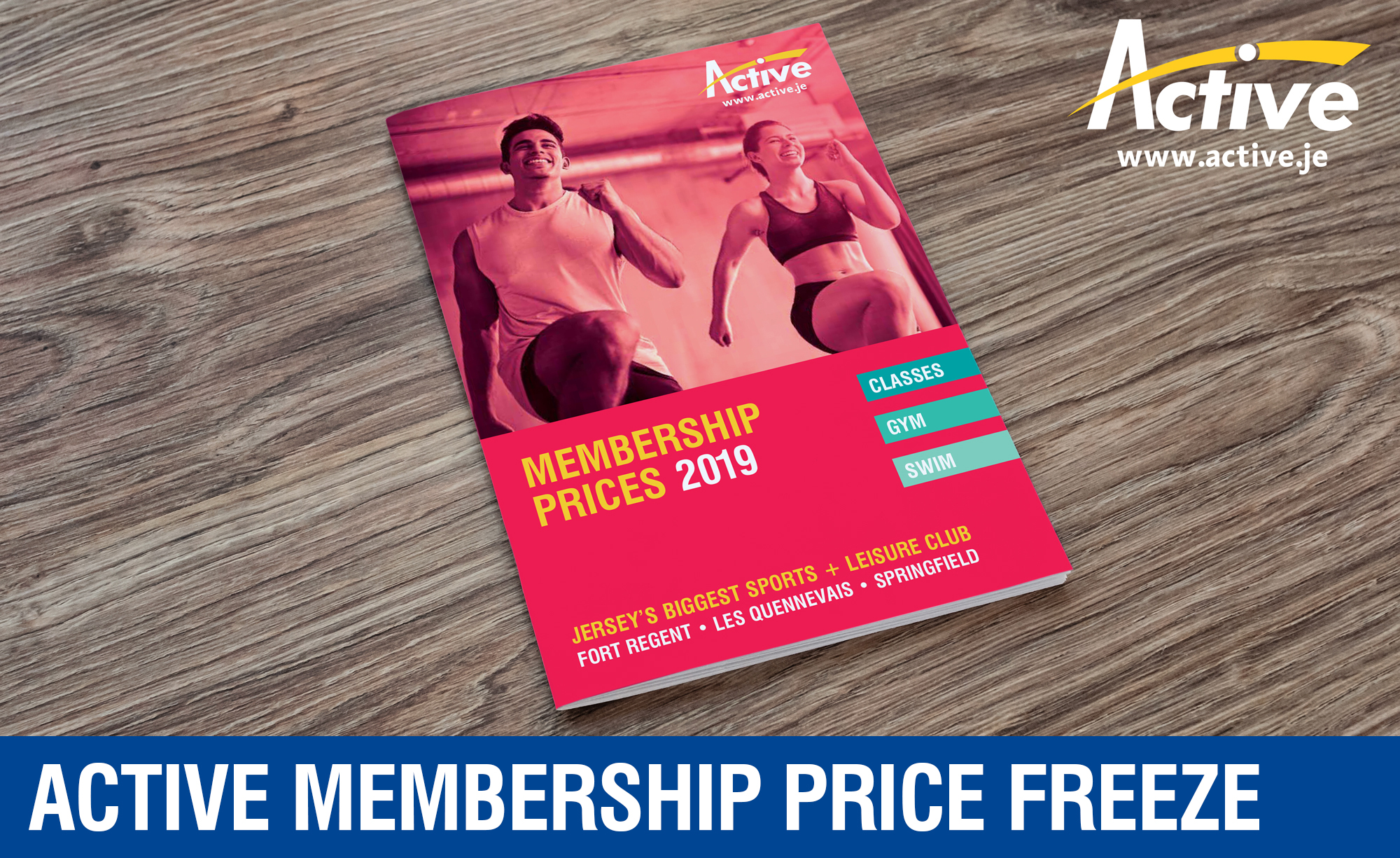 Active Membership Price Freeze