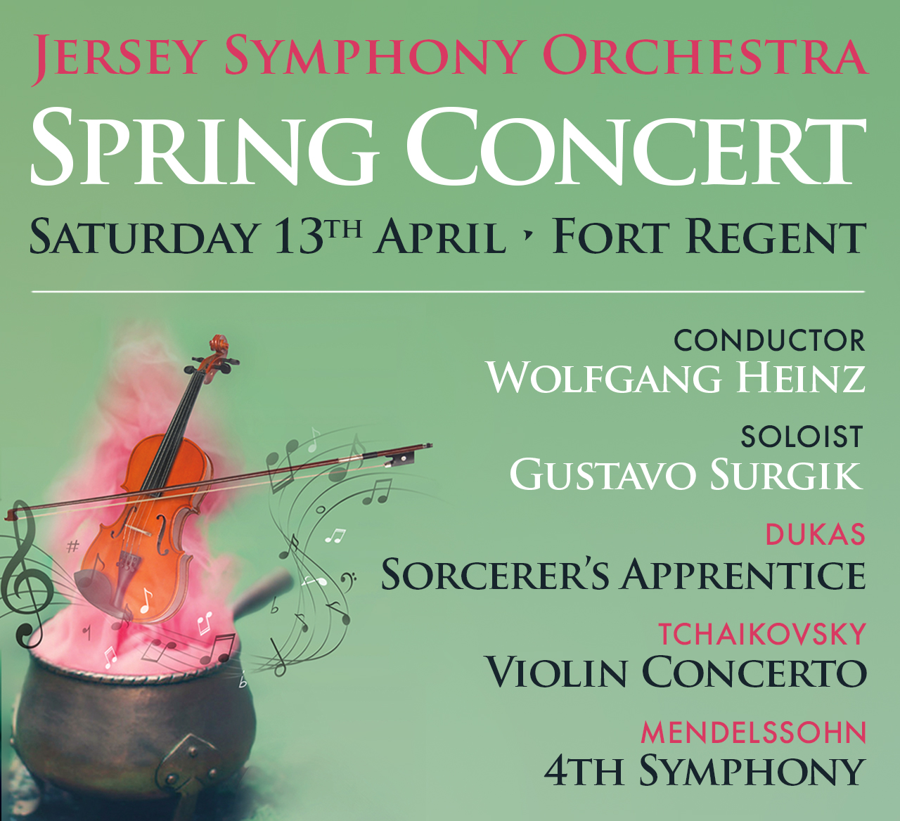 Jersey Symphony Orchestra - Spring Concert