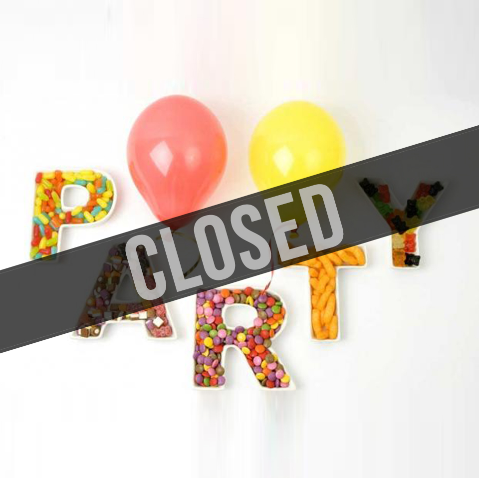 Children's Parties - Temporarily Closed